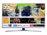 "SAMSUNG 49"". 49MU6400 ULTRA HD 4K HDR SMART FREESAT WIFI LED TV"