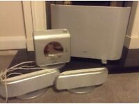 Philips surround sound system with DVD player