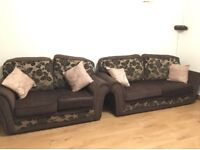 2 seater and 3 seater sofa set