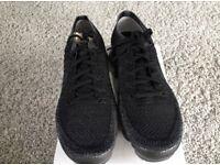 Nike Air VaporMax Black Grey UK 8