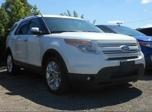2012 Ford Explorer Limited AWD Leather seat