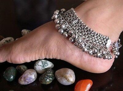 - Jingle Bell Anklet PAIR Bare Foot Sandal Ankle Bracelet Jewelry Belly dance Boho