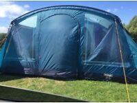 Vango vail 700 three bedroom tent.