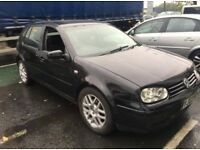 Volkswagen Golf 1.9 gttdi spares and repair