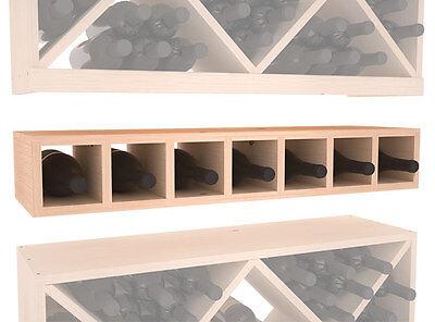 7 Bottle Conversion Cubby Wine Cellar Rack Kit in Ponderosa Pine. Free Shipping!