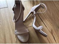 C brand new Office beige suede heels 7