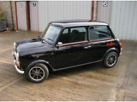 "Classic mini ""jet black ltd ed"" 1988 - 998cc"