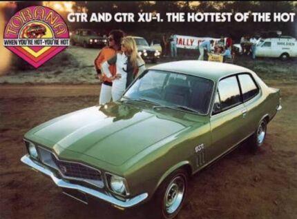Wanted: Wanted Holden LJ Torana GTR XU1