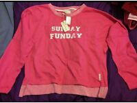 lovely pink jumper size 10 - 12 New with tags Primark / Atmosphere