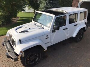 2016 Jeep Wrangler 75th Anniversary Limited Edition