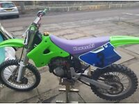 Kawasaki Kx 125 for sale or swap