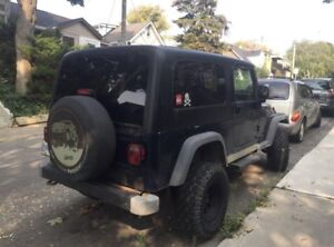 2004 Jeep Wrangler Unlimited AUTOMATIC//HARDTOP & SOFTTOP $9000