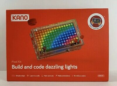 KANO Pixel Kit - Build and Code Dazzling Lights New, Sealed Box