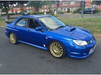 ***2007 SUBARU IMPREZA 2.5 WRX FULL REAR CARBON FIBRE BIG SPOILER FULLY LOADED TOP SPEC*** £5999!