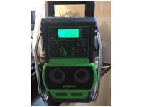HITACHI USB/AUX/DIGITAL WORKS SITE RADIO