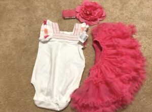 3-6 Month Baby Girl Carter's Outfit - New W/Tags
