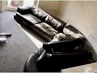 BARGAIN DFS Leather Sofa , CHEAP!