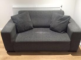 Comfortable sofa with two seater