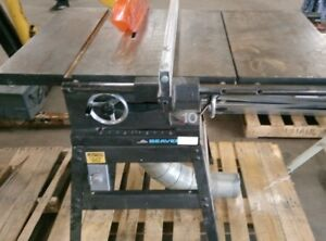 Beaver 10''  TableSaw -  1 HP HD GE Motor & Dust Collector