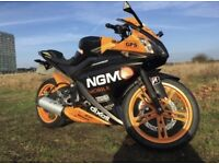 Yamaha R125 excellent condition long MOT VERY LOW MILEAGE QUICK SALE!
