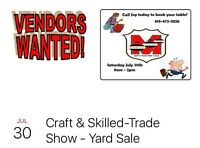 Craft & Skilled-trade show - still looking for vendors