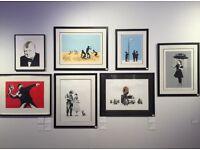 Wanted: Original Banksy prints and memorabilia