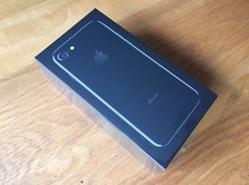 Jet Black iPhone 7 128gb Sealed Brand New Factory Unlocked with Receipt direct from Apple 128 GB