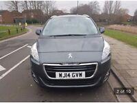 Peugeot 5008 2014 1.6eHdi pco licenced