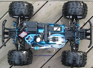 New RC Truck Nitro Gas Engine 1/8 Scale 4WD 2.4G Peterborough Peterborough Area image 7