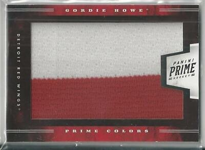 Father's Day Colors (2012-13 PANINI PRIME COLORS FATHER'S DAY PANINI JERSEY PATCH GORDIE)