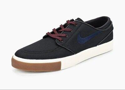 check out dec2b 9d4ca Men s Nike Zoom Stefan Janoski CNVS Skateboard Shoe Size 10.5 Black 615957- 024