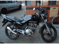 GRAB A BARGIN! Yamaha YBR 125 black