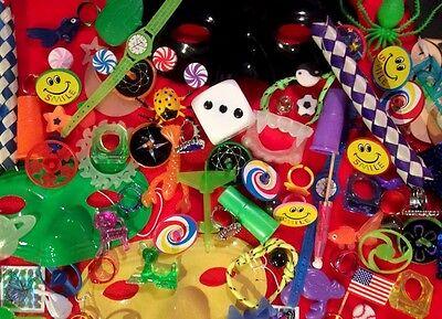 Lot of 100 Small Classroom Teacher Toy Reward TRINKETS ASSORtMENt CARNIVAL PriZe