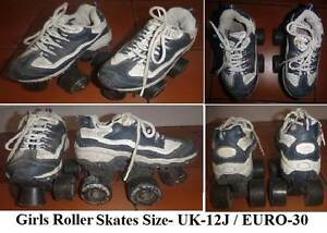 ROLLER SKATES - GIRLS - Toddler. UK Size 12J - EURO Size 30. Wembley Cambridge Area Preview
