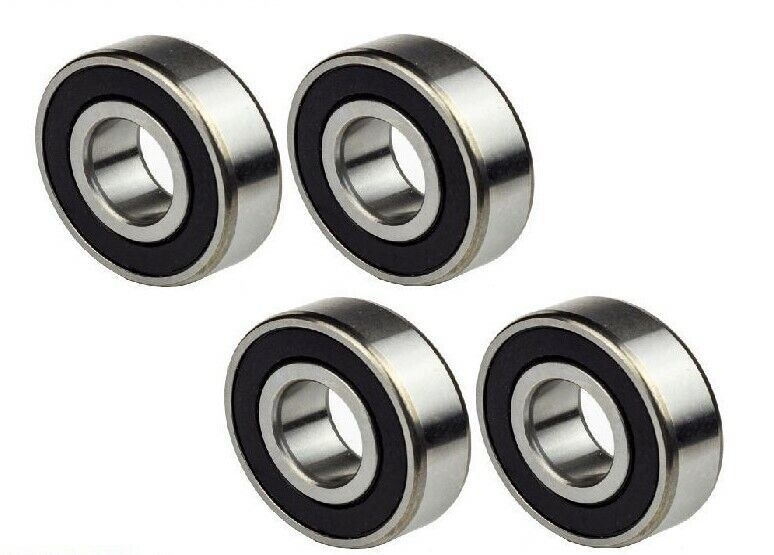 6204-2RS Ball Bearing Dual Sided Rubber Sealed Deep Groove (4PCS)
