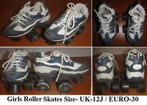 ROLLER SKATES-GIRLS-Toddler. LITTLE MISSY UK Size 12J-EURO Size30 Wembley Cambridge Area Preview