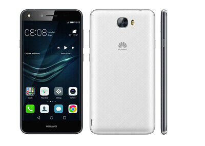 Compact Triband Cell Phone - Huawei Y6 compact 2017  8GB White/Black/Gold Unlocked Android Smartphone GRADED