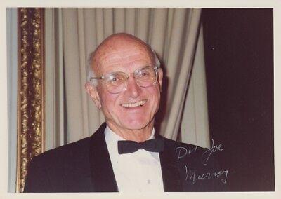 """JOSEPH E. MURRAY --- """"Nobelpreis"""" - original signiert - 8#21"""
