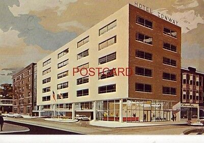 CONWAY MOTOR HOTEL APPLETON, WI. Hospitality center for the Fox River (Valley River Center)