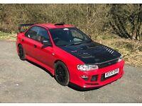 Subaru Impreza Uk Turbo Wrx Sti High Spec Road/Track Car Mint Condition LOOK!!!!