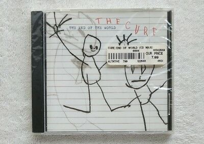 new sealed The Cure THE END OF THE WORLD 2004 maxi single