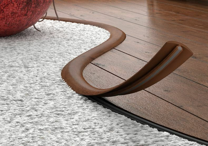 FLEXIBLE FLOORING PROFILE,Transition Profile Strip,Floor ...