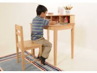 Lovely small desk and chair for a child