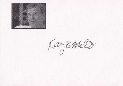 "KARY B. MULLIS --- ""Nobelpreis"" - original signiert - 8#13"