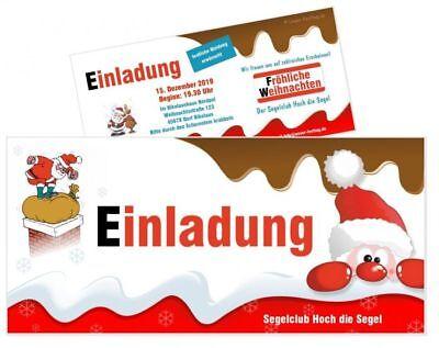 adung Firma Verein Schule für alle - Text ändern WUNSCHTEXT (Weihnachtsfeier Einladung)