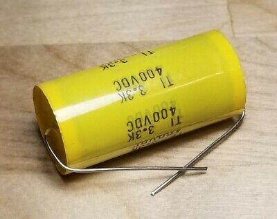 Ti Polyester Film Capacitor 3.3k 400vdc Axial 901-400335kf