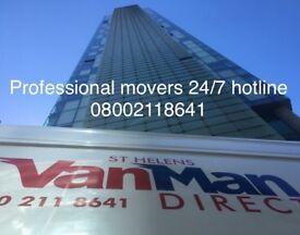 Man and van team St. Helens areas