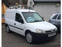 2009 Vauxhall Combo van 1.3 cdti *ONE company owner* *FULL service history*
