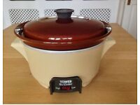 RETRO VINTAGE TOWER SLOW COOKER - BRAND NEW 2.5 litre capacity