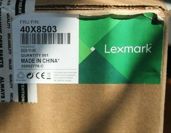 Lexmark OEM Fuser Unit 40X7743 110-120V, type 11 for MS710 MS711 NEVER USED NIB